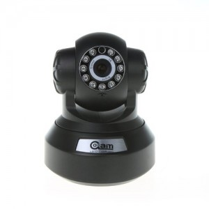 NIP-20(OZX) Zwart - IP Camera - Viewcam - Draadloze internet camera - HD - Infrarood